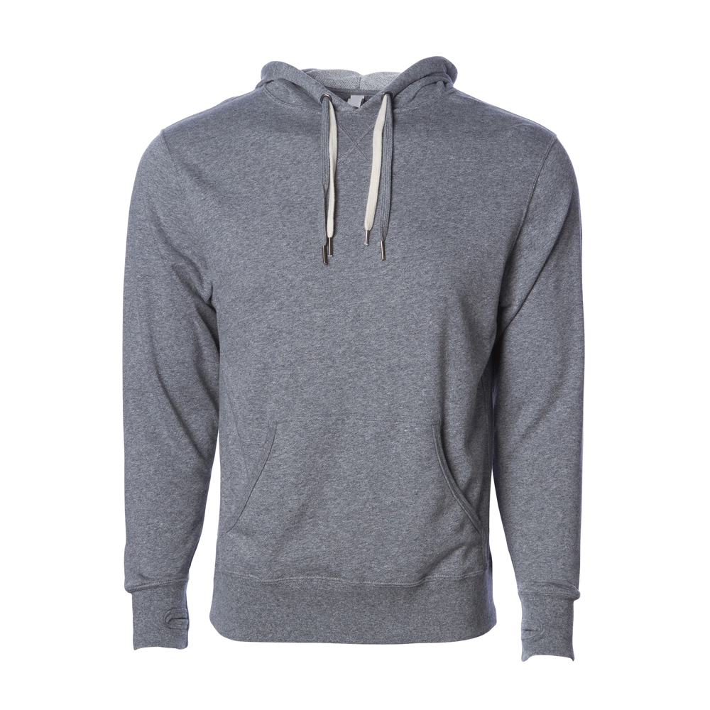 UNISEX HEATHER FRENCH TERRY HOODED PULLOVER