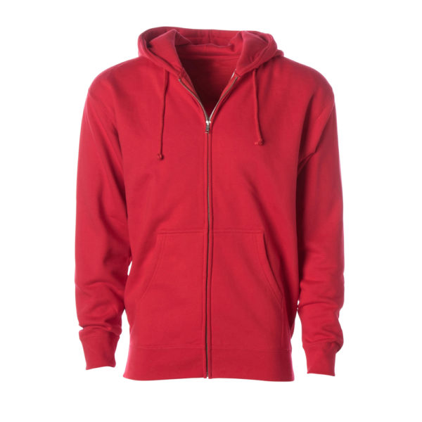 HEAVYWEIGHT ZIP HOODED SWEATSHIRT