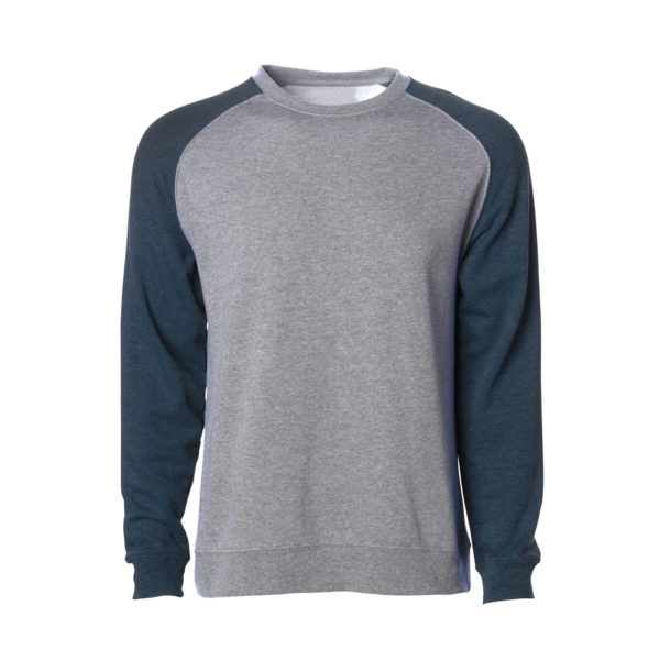 MEN LIGHTWEIGHT FITTED RAGLAN CREW