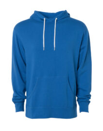 UNISEX LIGHTWEIGHT FITTED HOODED PULLOVER SWEATSHIRT (5)