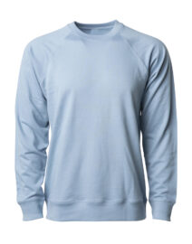 UNISEX LIGHTWEIGHT LOOPBACK TERRY CREW