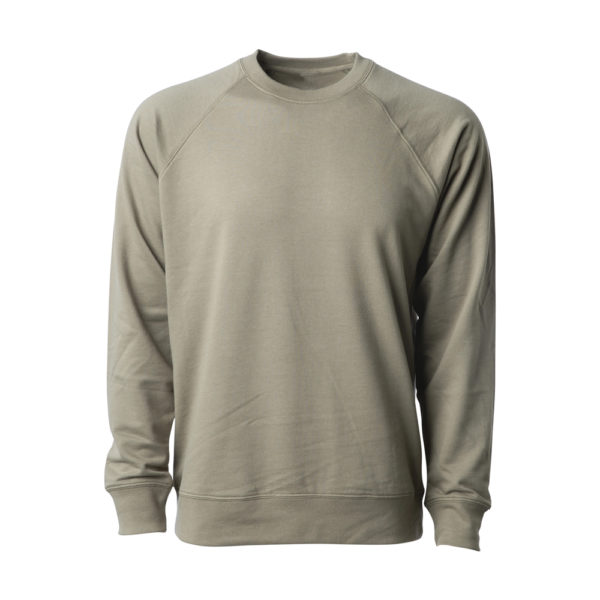 UNISEX LIGHTWEIGHT LOOPBACK TERRY CREW (5)