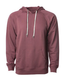 UNISEX LIGHTWEIGHT LOOPBACK TERRY HOODED PULLOVER (1)