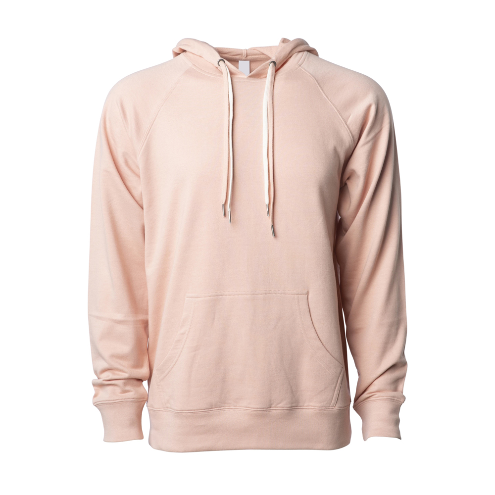 UNISEX LIGHTWEIGHT LOOPBACK TERRY HOODED PULLOVER (8)