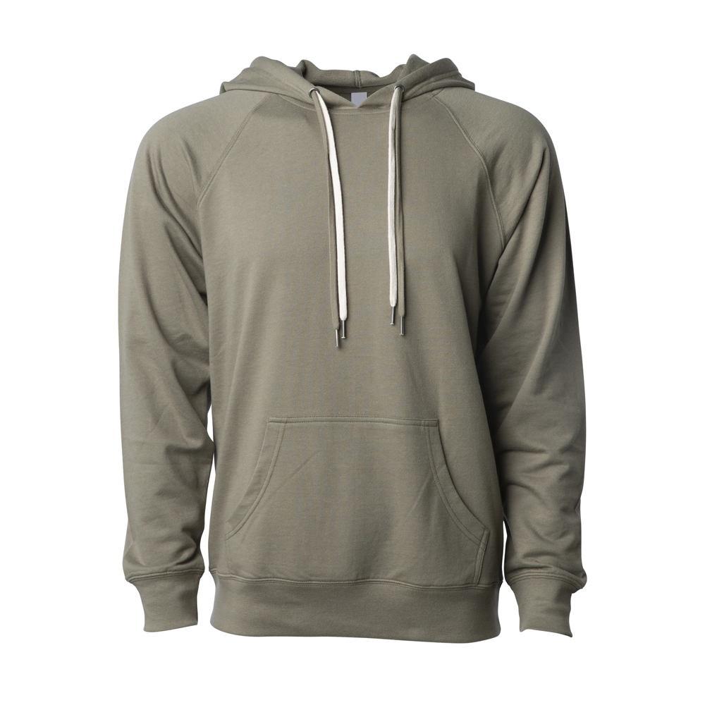 UNISEX LIGHTWEIGHT LOOPBACK TERRY HOODED PULLOVER (7)