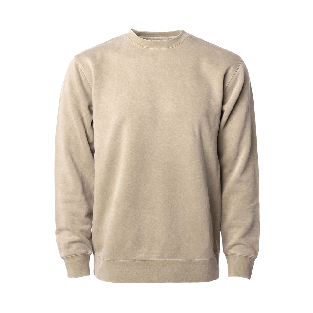 UNISEX MIDWEIGHT PIGMENT DYED CREW NECK